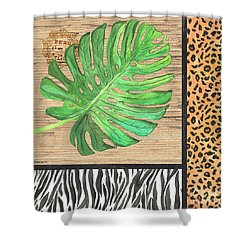 Exotic Palms 3 Shower Curtain