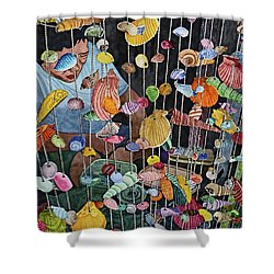 Exotic Seashells For Sale Shower Curtain