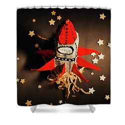 Expansion Of Growth And Development Shower Curtain