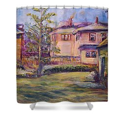 Upstairs Window Shower Curtain