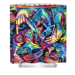 Expansive Dynamics Of The Subconscious Shower Curtain