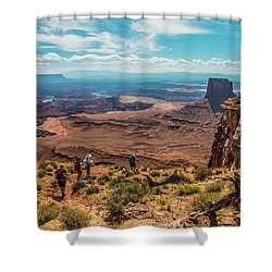 Expansive View Shower Curtain