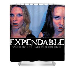 Expendable 15 Shower Curtain