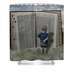 Exploration And Discovery Shower Curtain