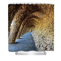 Explorer Shower Curtain by Randy Scherkenbach