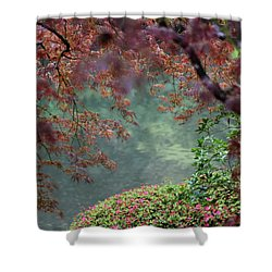 Shower Curtain featuring the photograph Exploring Beauty by Brandy Little