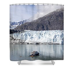 Exploring Glacier Bay Shower Curtain