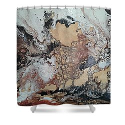 Exploring The Mind Shower Curtain