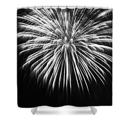 Shower Curtain featuring the photograph Explosion by Colleen Coccia