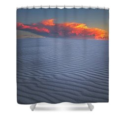 Explosion Of Colors Shower Curtain
