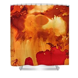 Explosion From The Galaxy Shower Curtain
