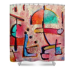 Expression # 12 Shower Curtain by Jason Williamson