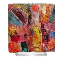 Expression # 8 Shower Curtain by Jason Williamson