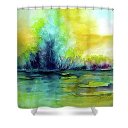 Expressive Shower Curtain