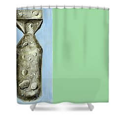 Extinction Shower Curtain by Ryan Demaree