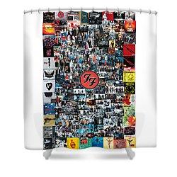 Extraordinary Hero Collage Shower Curtain
