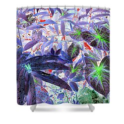 Extravagant Blue Shower Curtain