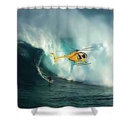Extreme Surfing Hawaii 6 Shower Curtain