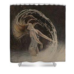 Exuberance Shower Curtain