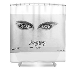 Focus On The Good Shower Curtain