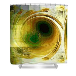 Shower Curtain featuring the photograph Eye In The Sky by Carolyn Repka