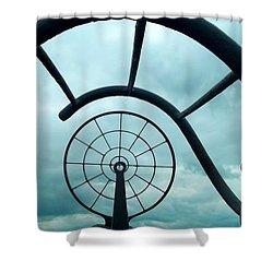 Eye Of History  Shower Curtain