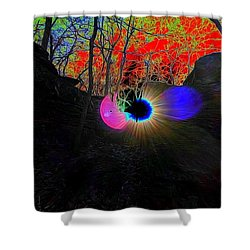 Eye Of Nature Shower Curtain
