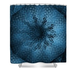 Eye Of The Crystal Shower Curtain