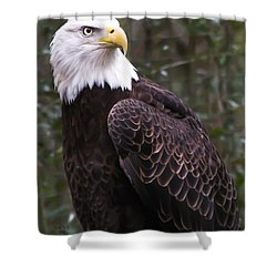 Eye Of The Eagle Shower Curtain