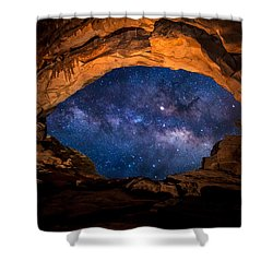 Eye Of The Universe Shower Curtain