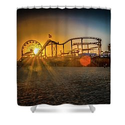 Eye Of The Wheel Shower Curtain