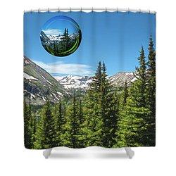 Eye On Summit County Shower Curtain