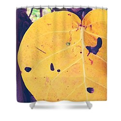 Eye See Holy Yellow Shower Curtain