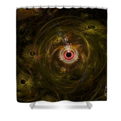 Eye See It All Shower Curtain