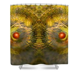 Eyes Of The Garden-1 Shower Curtain