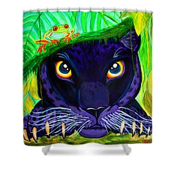 Eyes Of The Rainforest Shower Curtain