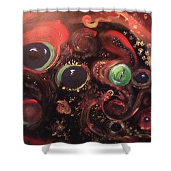 Eyes Of The Universe # 5 Shower Curtain by Michelle Audas