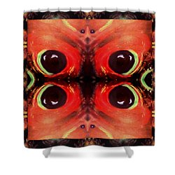 Shower Curtain featuring the digital art Eyes Of The Universe # 8 by Michelle Audas