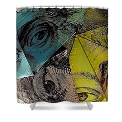 Eyes On You Shower Curtain