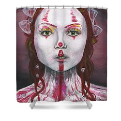 Eyes Open Shower Curtain