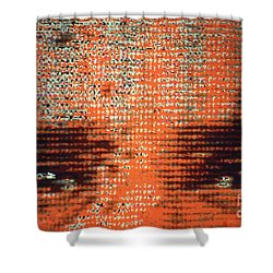 Eyes Tell All Shower Curtain