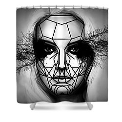Eyes Tell The Truth Shower Curtain