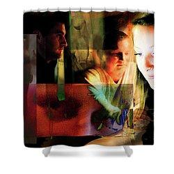 Eyes Wide Shut - Stanley Kubrick's Movie Interpretation Shower Curtain