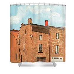 Eymoutieres House Shower Curtain by Jeni Bate