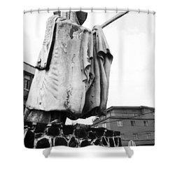 Eyo Statue, Idumota Shower Curtain