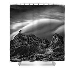Eystrahorn, Iceland Shower Curtain