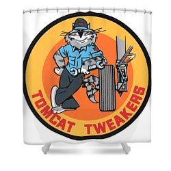 F-14 Tomcat Tweakers Shower Curtain