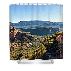 F And B Ridge 07-028 Shower Curtain