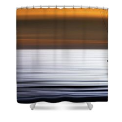 F L Y I N G Shower Curtain