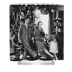 F. Scott Fitzgerald Family Shower Curtain by Granger